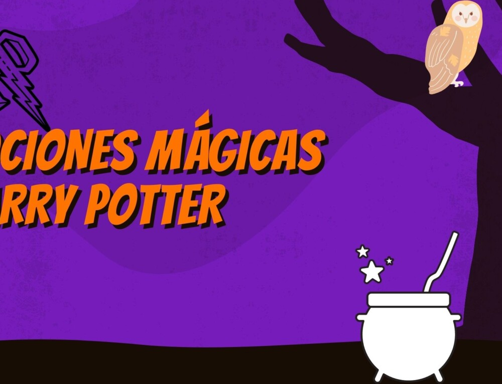 POCIONES MÁGICAS HARRY POTTER